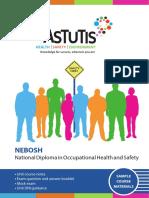 NEBOSH Diploma AstutisSAMPLECourseMaterials (Distance)
