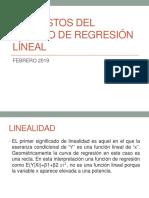 SUPUESTOS DEL MODELO DE REGRESIOìN LIìNEAL (2)
