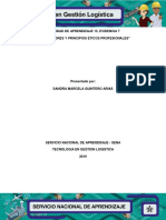 Ficha de Valores y Principios Eticos Profesionales