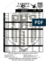 soccer schedules  2020 all