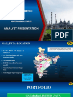 Presentation to Analyst on Pata Plant Visit-converted
