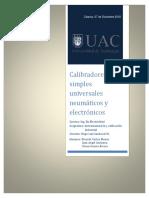Calibradores Simples Instrumentacion UAC