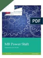MB Power Shift
