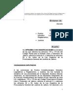 25112011141444_dictamen Reforma Articulos 179 y 179 Bis LOPGJEJ