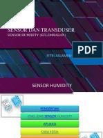 Sensor Dan Transduser Sensor Humidity