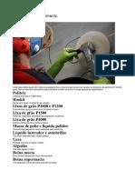 ACABAMENTO - Materiais para polimento.docx