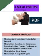 DAMPAK MASIF KORUPSI