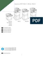 Manual impresora Laserjet MFP 631