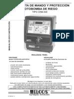 Manual Centralita ELCOS CEM-540