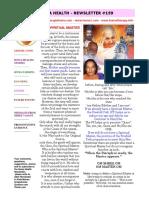 Homa Health Newsletter 159
