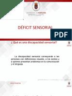 Deficit Sensorial