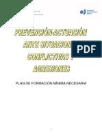 Prevención situaciones conflictivas y agresiones