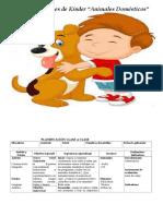 planificacion animales