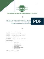 TP Epistemología Genética FINAL Catedra 2010