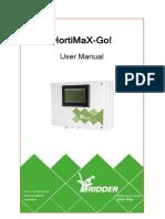 User Manual HortiMaX-Go! En