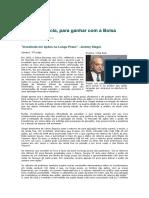 Investindo em ações a longo prazo - Jeremy Siegel