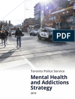 Toronto Police Service Mental Health and Addiction Strategy