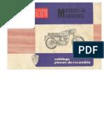 Catálogo Piezas Ducati 125t 125s 175ts 200e 250deluxe
