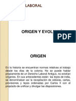 Derecho Laboral Origen y Evolución Cusrsos Tecnicos