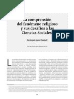 Iranzo Dosdad_La comprension del fenomeno religioso y su desafio alas ciencasias sociales.pdf