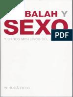 Kabbalah y Sexo (libro completo)
