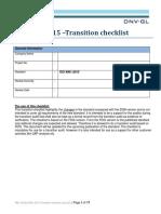 Transition Checklist - 9001_2015_tcm28-90457 - Final