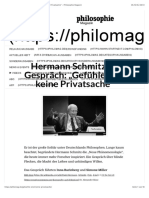Hermann Schmitz im Gespräch