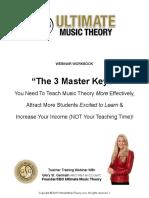 UMT Theory Seminar