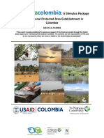 A Stimulus Package for Subnational Protected Area Establishment in Colombia AID-514-G-10-00004