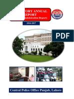 Statutary Annual Report 2016-17