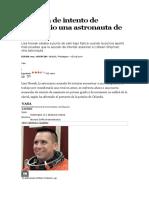 Acusada de Intento de Homicidio Una Astronauta de La NASA