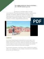FABRICACIÓN DE LADRILLOS EN EL CHACO CENTRAL