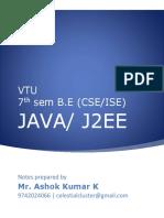 Java Unit7 Ashok Kumar K