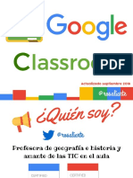 Manual Google Classroom