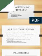 VANGUARDISMO LITERARIO