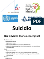Ejemplo de Taller sobre Prevención de Suicidio