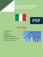 Istituzioni Dello Stato Italiano e Palazzi Del Potere a Roma