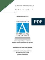 MA010 - Gestión Ambiental de La Empresa