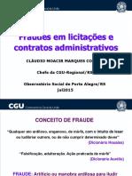 Fraudes Em Licitações e Contratos Observatório POA Jul2015