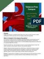 Tobacco-Free Campus Flyer