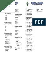 1. 6° Matematicas - 2p