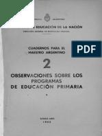 Cuadernos Para El Maestro Argentino 2 Justicialismo 1953