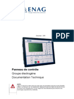 Documentation Du Panneau de Controle Des Groupes