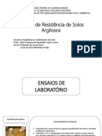 Ensaios de Resistência de Solos Argilosos.pptx