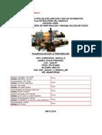 Programa de Perforación JA20-07 (WDI-731) HORIZONTAL Lateral