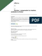 Fabre 2014 Processus Création
