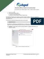 Instalacion SQL Server 2008 y Manejo Con Sistemas Aspel