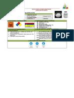 Ficha de Seguridad de Hidróxido de Bario