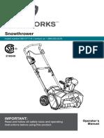 Yardworks Manual