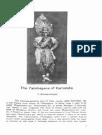 Yasagana of Karnataka